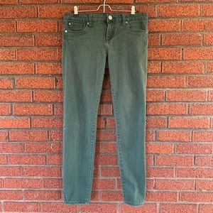 Kut from the Kloth Green Diana Skinny Jeans